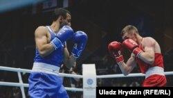 Бокс на Эўрапейскіх гульнях у Менску