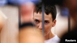 Надежда Савченко в Басманном суде Москвы
