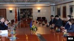 Архивска фотографија - делегација на ЕП на средба со премиерот Никола Груевски.
