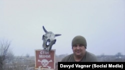Давид Вагнер, солдат-конктрактник ЗСУ