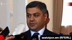 Директор Службы национальной безопасности Армении Артур Ванецян (архив)