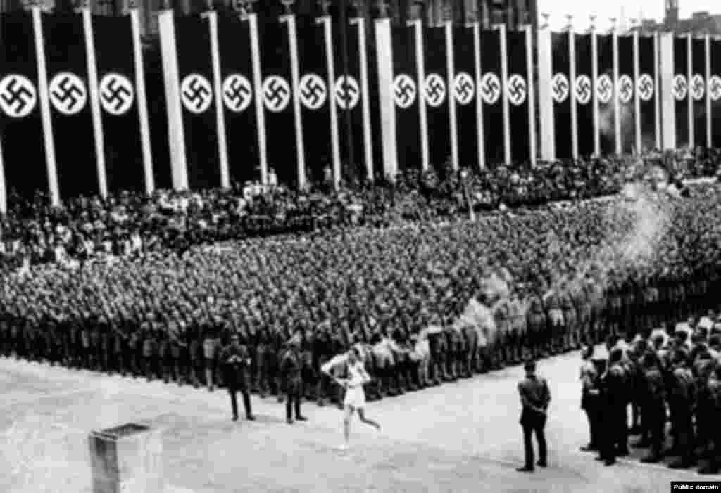 Факелоносец Фриц Шилген, игры 1936 года
