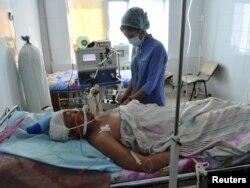 Башаламандык учурунда жараат алгандардын бири, 19-декабрь, 2011-жыл