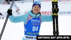 Українська біатлоністка Юлія Джима