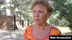 Елена, владелица участка в Ласпи