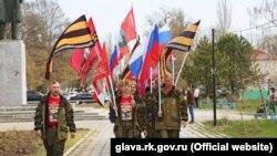 У Криму проходить акція «Зірка нашої Великої Перемоги», 6 квітня 2016 року