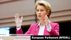 European Commission President Ursula von der Leyen (file photo)