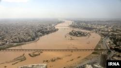 Flooding in Ahvaz on April 1.