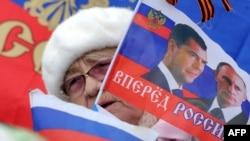 Большинство населения Крыма приветствует вхождение полуострова в состав России