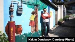 Каким Данабаев в Южной Корее. Фото из личного архива Данабаева.