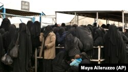 «Аль Хол» лагери. Сирия, 31-март, 2019-жыл.