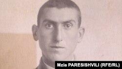 Жора Берадзе в молодости, призывник. 1939 г.