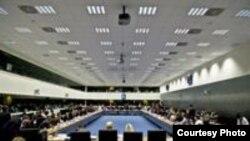 Imagine de la ședința Consiliului UE