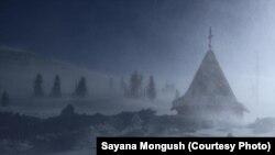Dimri në një fshat rus