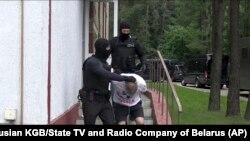 Затримання найманців «ПВК Вагнера» у Мінську. 29 липня 2020 року