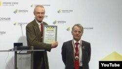 Вручення ордена «За заслуги в боротьбі з фашизмом у Росії», 8 лютого 2016 року