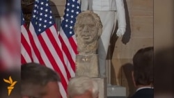 Bust Of Vaclav Havel Unveiled In U.S. Congress