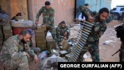 آرشیف. نیروهای طرفدار حکومت سوریه