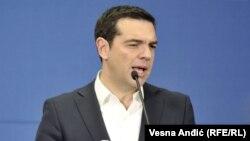 Premijer Grčke Aleksis Cipras