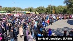 Митинг против назначения Дмитрия Трапезникова, 13 октября 2019 г.