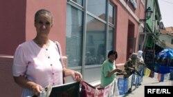 Protesti žena Srebrenice u Tuzli, 11.06.2010.