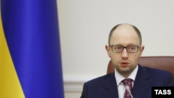 Арсеній Яценюк, прем'єр-міністр України