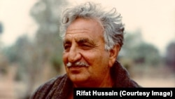 Abdul Ghani Khan in the winter of 1979.
