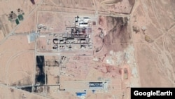 Jajarm facility satellite photo