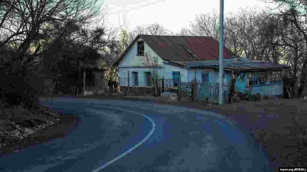 Первый крайний дом в Соколином со стороны плато на улице Ялтинской