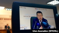 Спикер парламента Кыргызстана Чыныбай Турсунбеков.