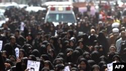 Похоронная процессия в Бахрейне