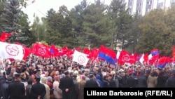 Демонстрация в Кишинёве