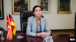 Германска амбасадорка Анке Холштајн
