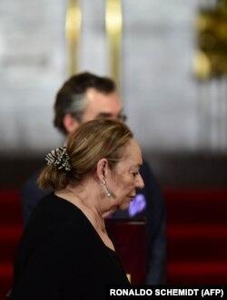 بارچا در مراسم یادبود مارکز در سال ۲۰۱۴