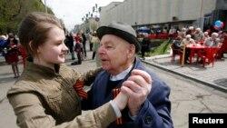 Перед днем Победы в Красноярске