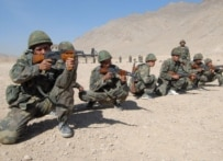 Afghan and NATO officials want the Afghan National Army to take over security -- eventually (epa)