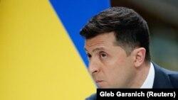 Зеленський під час пресконференції 20 травня