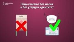 Нема гласање без придржување на здравствените протоколи