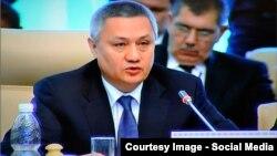 Ўзбекистон Молия вазири Рустам Азимов.