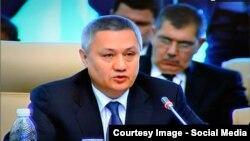 Ўзбекистон бош вазирининг биринчи ўринбосари Рустам Азимов.