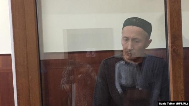 Абловас Джумаев в суде на оглашении приговора по его делу. Актау, 20 сентября 2018 года.