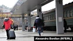 La gara din Chișinău
