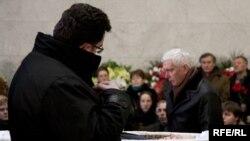 Прощание с Егором Гайдаром, 19 декабря 2009 г