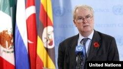 مارک لیال گرانت نماینده بریتانیا در سازمان ملل متحد