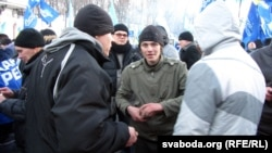 Падчас Антымайдану ў Кіеве
