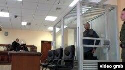 Акбарали Абдуллаев в зале киевского суда.