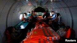Потрагата по малезискиот авион
