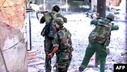 سربازان سوری،؛ عکس آرشیوی است.