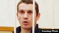 Томский блогер Вадим Тюменцев на суде по его делу.