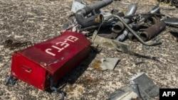 Обломки погибшего самолета